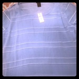 Ann Taylor Factory Short Sleeved Blouse
